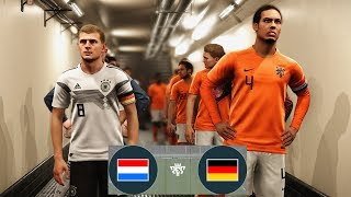 Netherlands vs Germany UEFA Nations League 13 October 2018   Full Match   Gameplay