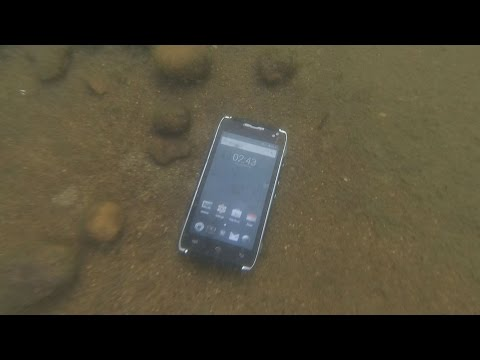 Oops! does the smartphone swim through the Pacific?