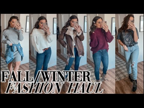 [VIDEO] - COZY AFFORDABLE FALL / WINTER FASHION TRY ON HAUL - 2019 2