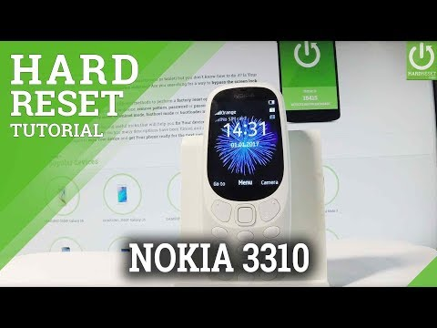 How to Hard Rest NOKIA 3310 2017