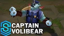 Captain Volibear Skin Spotlight - Pre-Release - League of Legends