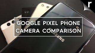 Google Pixel Camera vs Galaxy S7 vs Xperia XZ vs Huawei P9