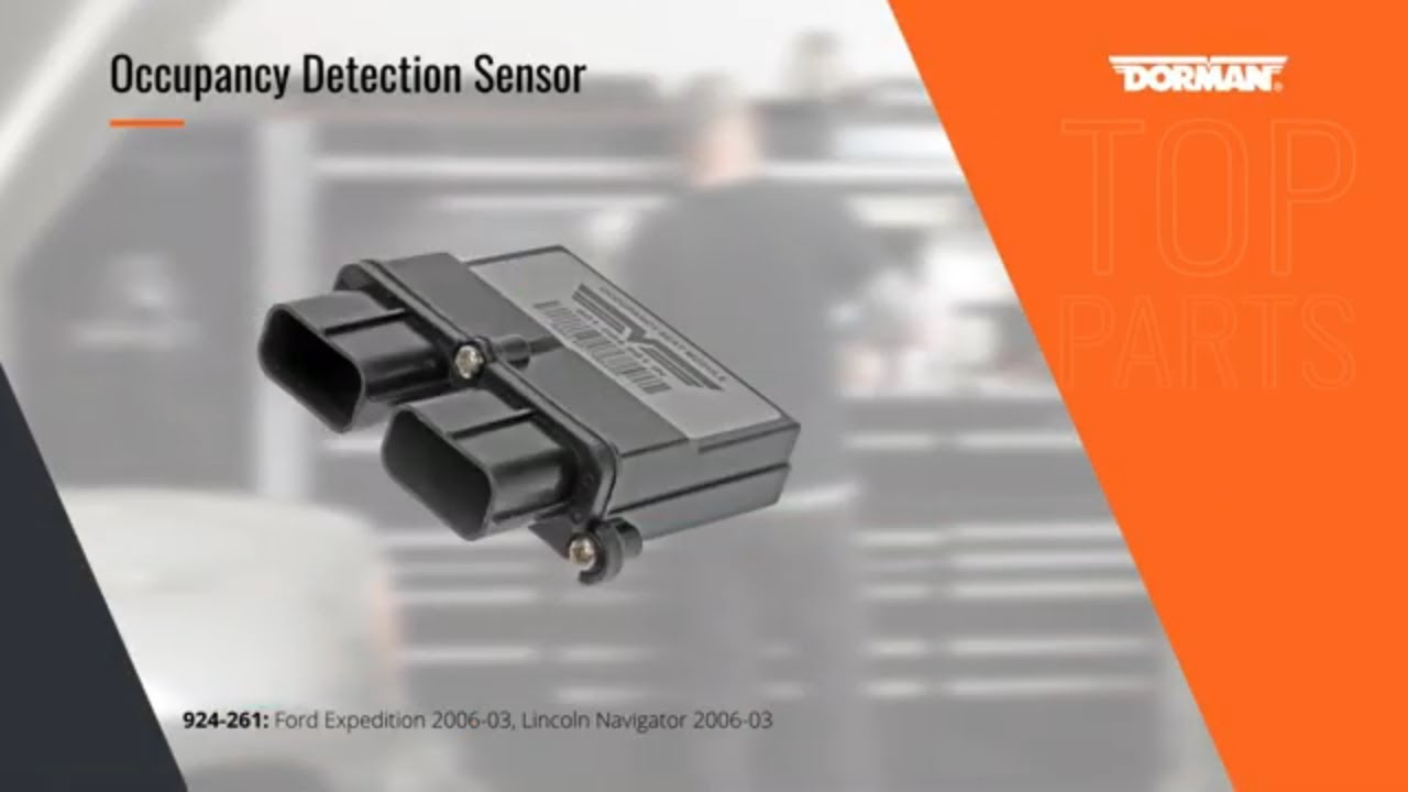Highlighted Part: Occupant Detection Sensor for Select Lexus & Toyota Models