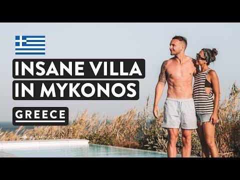 LUXURY GREEK VILLAS IN MYKONOS | With Private Pools! | Greece Travel Vlog 2018