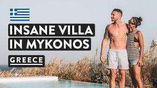 Gambar cover LUXURY GREEK VILLAS IN MYKONOS | With Private Pools! | Greece Travel Vlog 2018