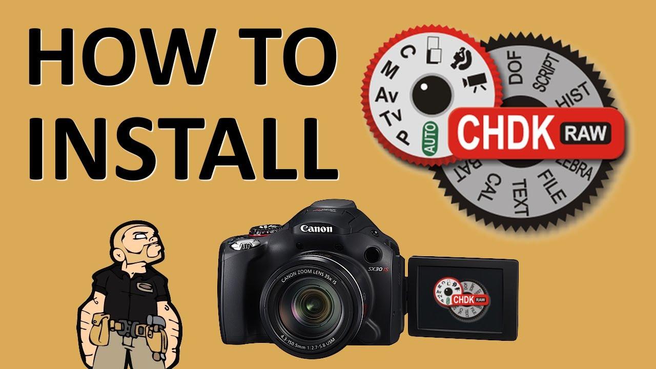 Canon Camera News 2019: How To Install CHDK on a Canon PowerShot