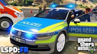 GTA 5 LSPD:FR - FAHRERFLUCHT + Kollegen TÖTEN mich! - Deutsch - Polizei Mod #26 Grand Theft Auto V
