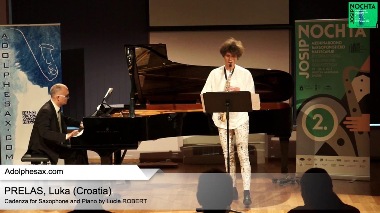 Cadenza by Lucie Robert –  PRELAS, Lukas (HR)