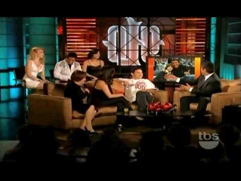 """MASIELA LUSHA on George Lopez's show """"LOPEZ TONIGHT"""" (Part 1)"""
