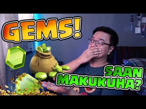 hack gems clash of clans android online - How to get GEMS...FREE?! Clash of Clans [Tagalog/English]