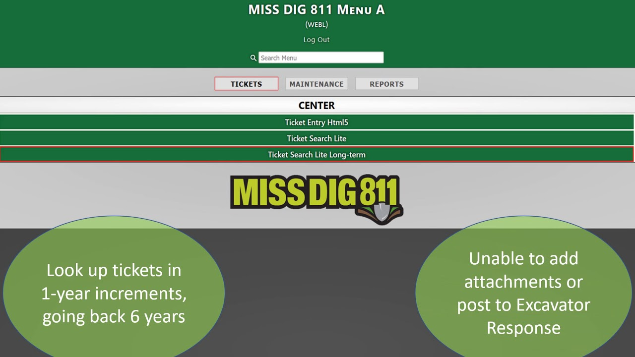 Miss Dig 811 Rte Basic Training Youtube Miss dig is michigan's only utility safety notification system. miss dig 811 rte basic training
