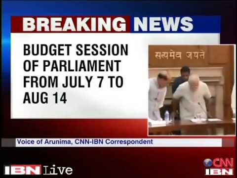 Modi government to present Rail Budget on July 8, General Budget on July 10