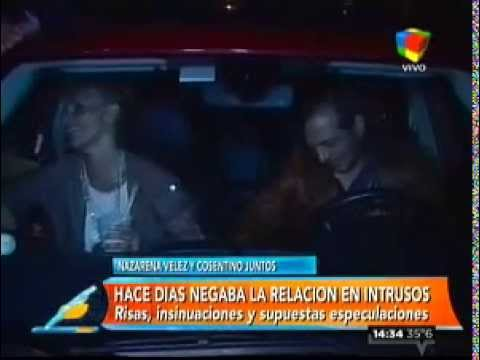 Nazarena Vélez y Marcelo Cosentino, juntos en la noche marplantese