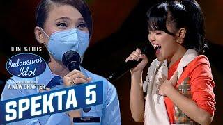 "Download Bikin Baper! Kirana ""Harusnya Aku"" - Spekta Show TOP 9 - Indonesian Idol 2021"
