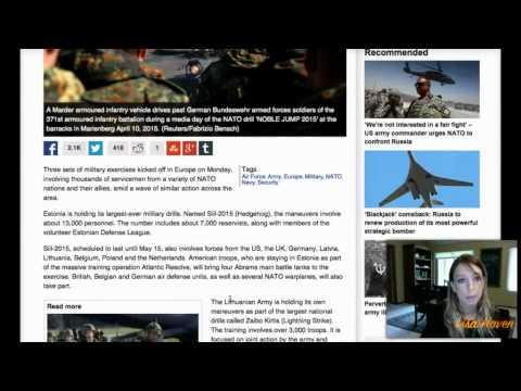 World Armies Preparing for Armageddon? Jade Helm Copycat Drills Now Global! It's HERE!