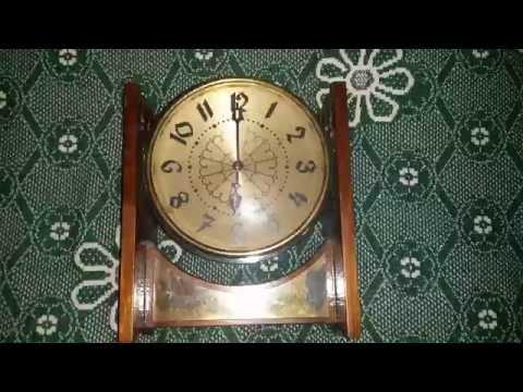 Часы Весна настольные механические СССР Desktop Clock Spring 🍎