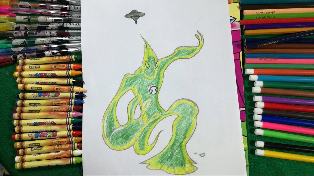 Coloring Goop Ben 10 Alien Force