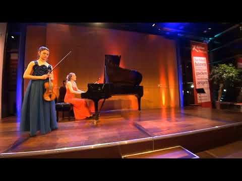 Deutsche Stiftung Musikleben: D. Fernández / Müllerperth, Mozart Sonate 21 e-moll