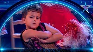 El pequeño MARIO PRIETO te hará BAILAR como un GORILA | Semifinal 3 | Got Talent España 5 (2019)