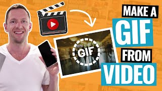 How to Make a GIF from a Video ('Video to GIF' Tutorial!)