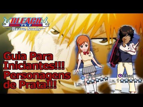 Bleach Brave Souls: Estrelas de Prata!!! Como usar Personagens de Prata!!! Guia para Iniciantes 4 - Omega Play
