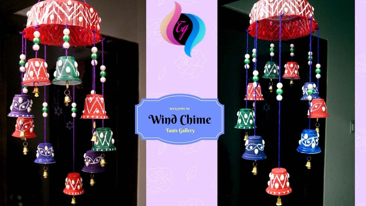 Diy Wind Chimes How To Make Out Of Plastic Making Recycled Materials