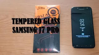 How to Install Tempered Glass Screen Protector for Samsung J7 Pro Black