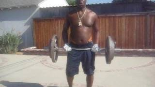 Young Kimbo curls 160lbs 2x aka Cream of Wheat Jackson,TUF 10 FINALE