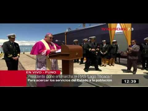 Presidente Kuczynski pone en marcha PIAS Lago Titicaca I en Puno