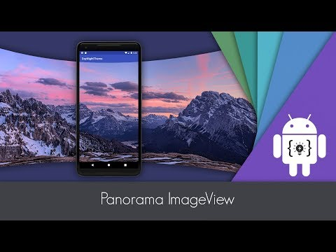 Android Studio - Panorama Image View - YouTube