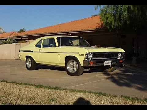 1969 Chevrolet Chevy Yenko / SC Nova in Yellow & 427 Engine Sound on My Car Story with Lou Costabile
