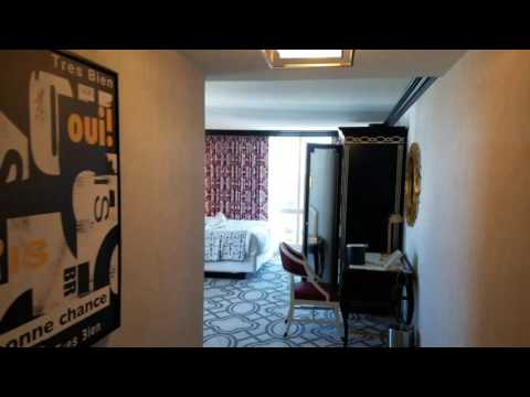 Paris Las Vegas Burgundy Room 2472P
