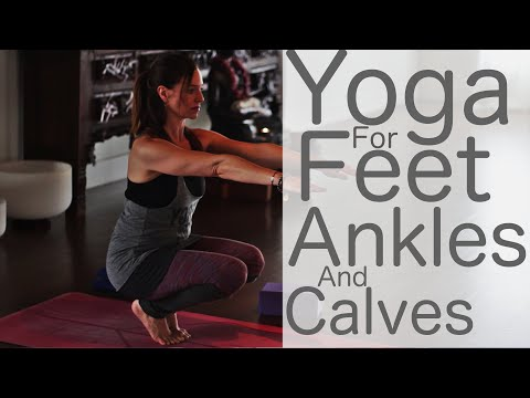 Yoga for feet, ankles and calves With Fightmaster Yoga