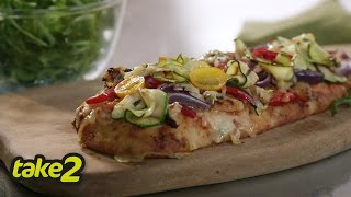 Flatbread Pizza Recipe With Loaded Leftovers