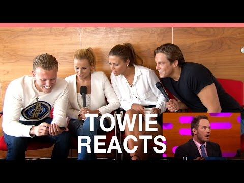 TOWIE stars react to Chris Pratt's brilliant Essex impression