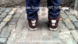 Counter Propaganda - DC Shoes Spartan High Wc Wnt Brown