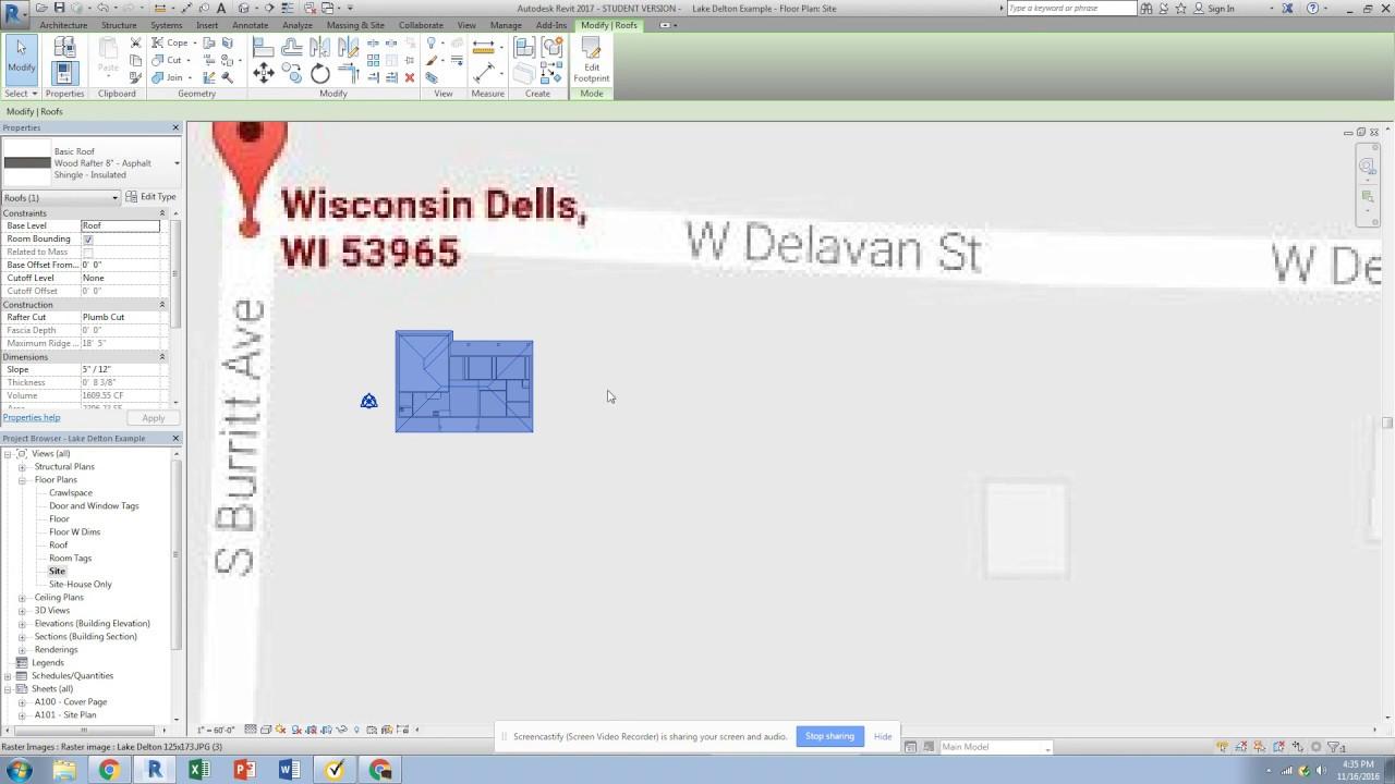 Revit True North Site Plan Building Orientation YouTube – Building Site Plan Software
