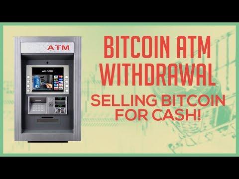 Bitcoin ATM Walkthrough - How To Sell Bitcoin (BTC) For Cash USD Using A Coinsource Bitcoin ATM