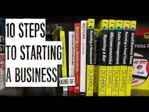 10 STEPS TO STARTING A BUSINESS from YouTube · Duration:  5 minutes 32 seconds