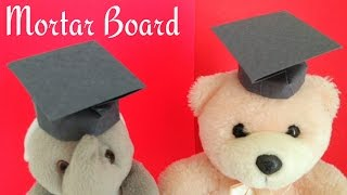 Origami Paper - Mortar Board / Graduation Cap (Teacher's Day Special)