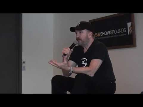 Jim Beaver/Bobby Singer from Supernatural at Vip Q&A 2012 (fans only)