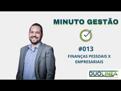 Minuto Gestão #013 - Finanças Pessoais x Empresariais