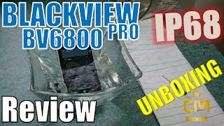 Blackview BV6800 Pro: IP68, IP69K, MIL-STD-810G Unboxing & Waterproo...