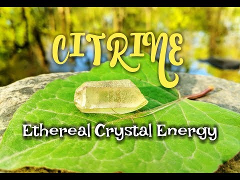 Citrine Ethereal Crystal Energy