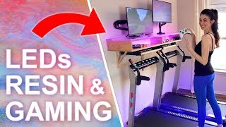 Baixar DIY Treadmill Gaming Desk (with Galaxy RESIN & LEDs)