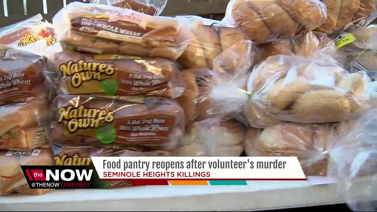Food Pantry resumes after volunteer becomes 4th victim of Seminole