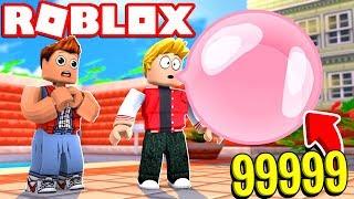 ROBLOX'S BIGGEST BUBBLE BALL!