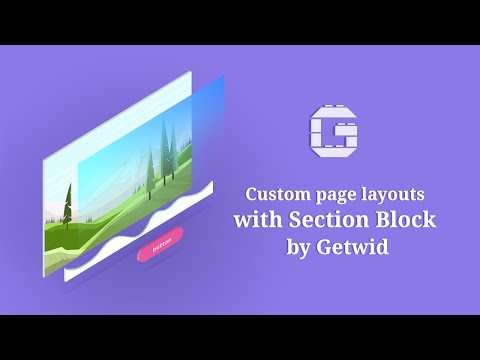 Section - Getwid WordPress Blocks