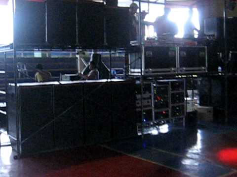WILLY'S SOUNDSTORM SET UP AT TABANGO LEYTE GYM