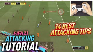 14 BEST ATTACKING TIPS TO QUICKLY IMPROVE IN FIFA 21